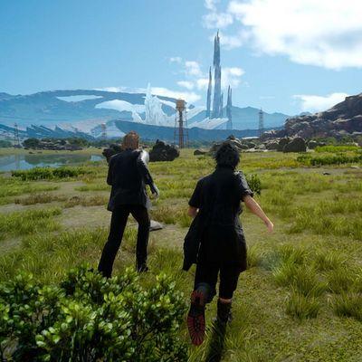 Prinz Noctis und seine Gruppe stürzen sich ins Abenteuer