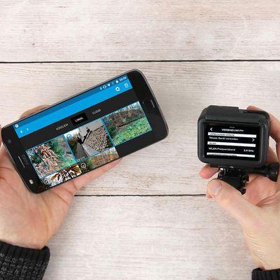 So koppelt man die GoPro-App mit der GoPro HERO6 Black.