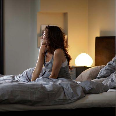 Lichtwecker holen Sie sanft aus dem Schlaf.
