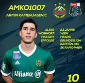 SK Rapid Wien: Armin Kamenjasevic