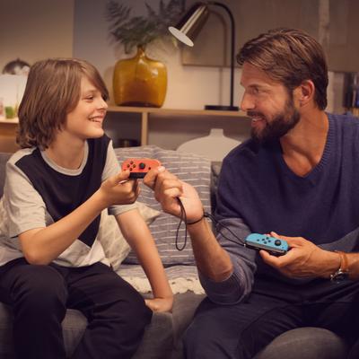 Die Spielmodi der Nintendo Switch.