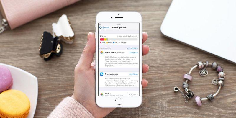 Speicherverwaltung unter iOS 11