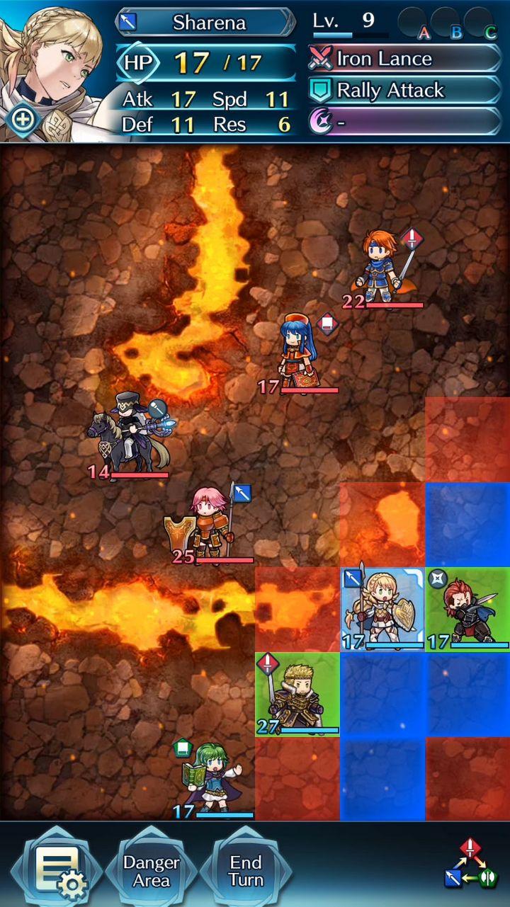 """Ein Screenshot aus """"Fire Emblem: Heroes"""""""