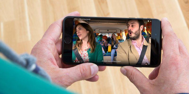"""Michel Gondry hat seinen Film """"Détour"""" zur Gänze auf einem iPhone gedreht."""