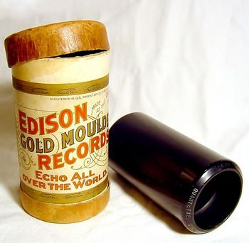 """Edison Gold Moulded Records"""