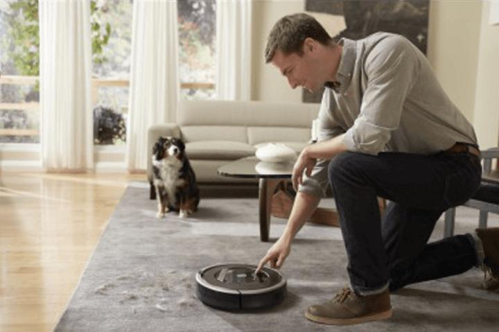 Der iRobot Staubsaugroboter Roomba 866.