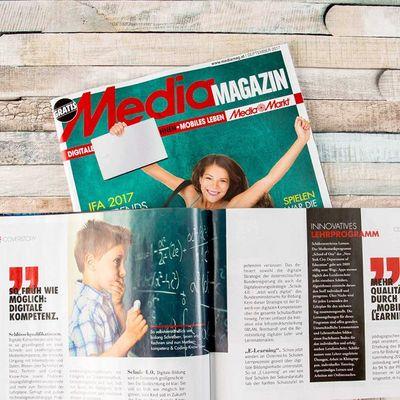 Die September-Ausgabe des Mediamagazins ist erschienen!