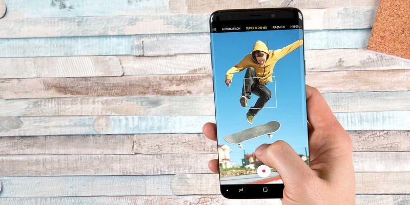 Kameraspaß mit dem Samsung Galaxy S9.