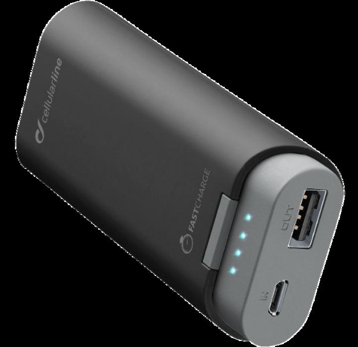 Dank Quick Charge wird das Smartphone blitzschnell aufgeladen.