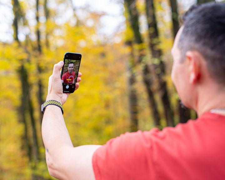 Selfies im Porträtmodus aufnehmen