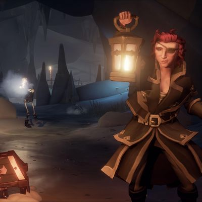 """""""Sea of Thieves"""" bietet spannende Abenteuer auf See."""