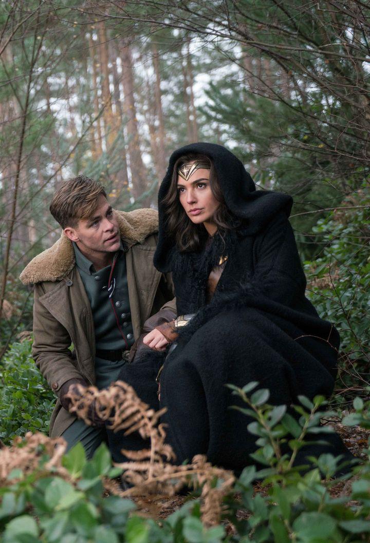Wonder Woman und Steve Trevor