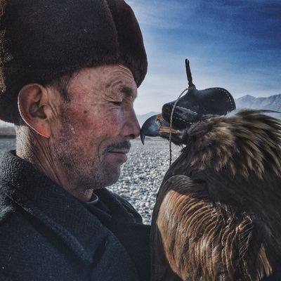 """Man and the Eagle"""