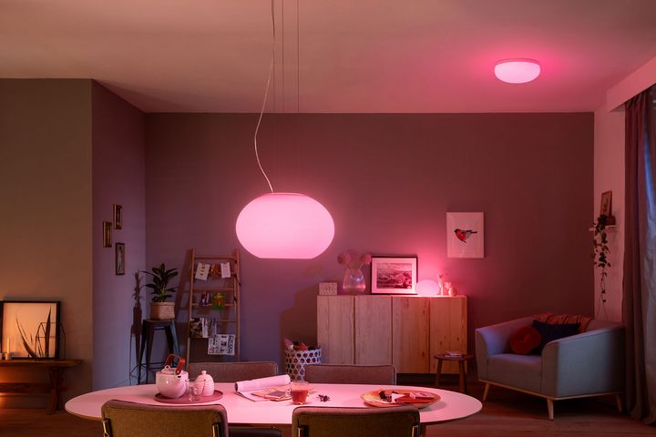 Hue Leuchten Wohnzimmerkollektion – Lichtzauber zum Wohlfühlen