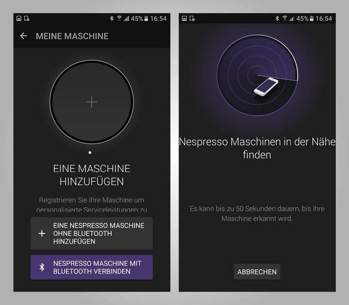 Voraussetzung für das Koppeln: Smartphone mit Android 5.0 oder höher bzw. iOS 8.1 oder höher.