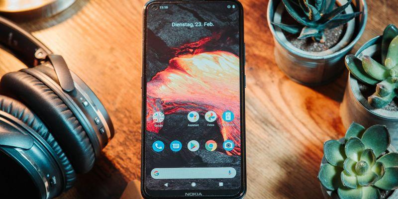 "Das ""Nokia 5.4""."
