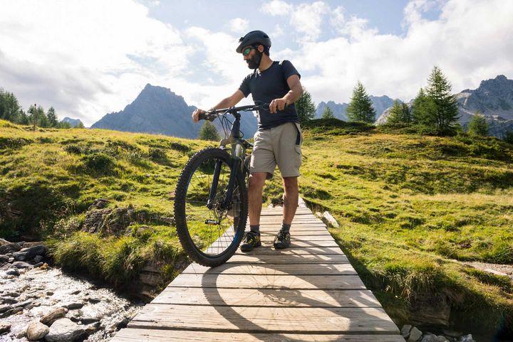 Der Hinterrad-Antrieb eignet sich für Sport- und Mountainbikes.