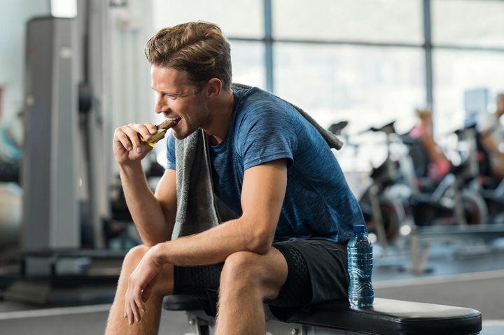 Ein Snack zur richtigen Zeit hilft, das Training effizienter zu machen.