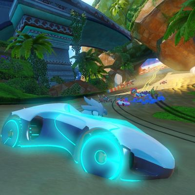 "Neues Rennspiel ""Team Sonic Racing""."