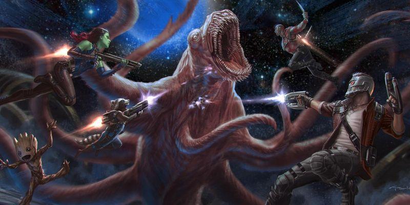 Trifft der Starlord  auf die Avengers?