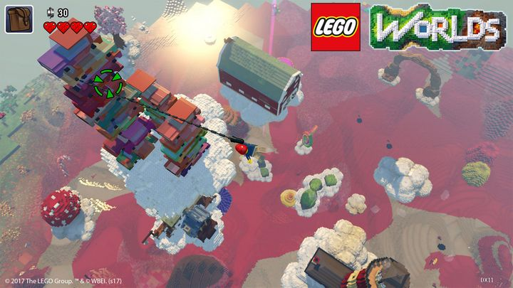 "Ein Screenshot aus ""Lego Worlds"""