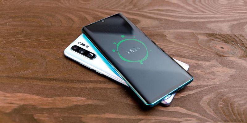Die Ladefunktionen des Smartphones.