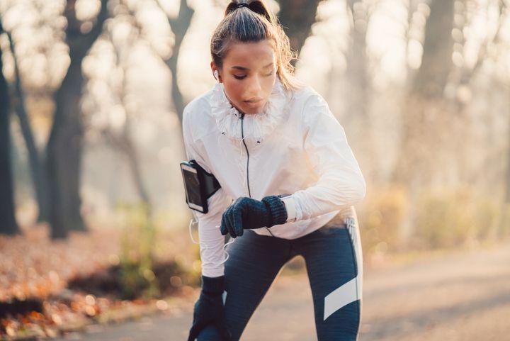 Laufen mit der Smartwatch