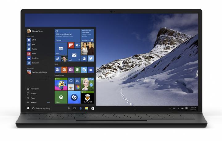 Upgrade auf das neueste Windows erleichtert die Bedienung.