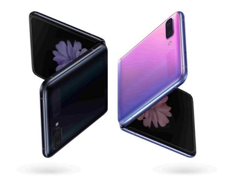 """Das """"Galaxy Z Flip"""" besitzt zwei Displays."""