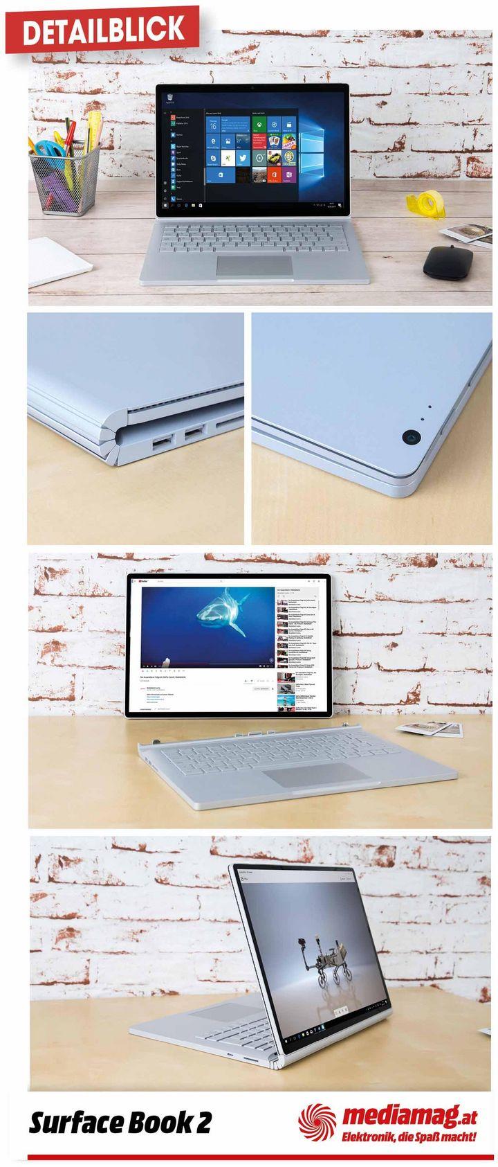 """Wir nehmen das """"Surface Book 2"""" von Microsoft genauer unter die Lupe."""