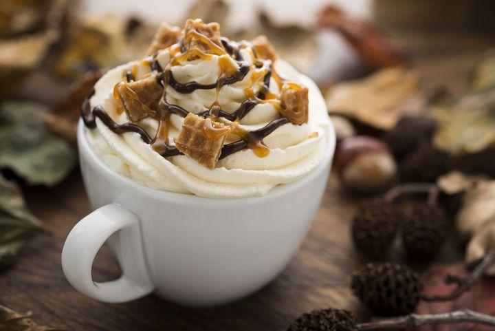 Nachmittags darf die Kaffeekreation üppig sein.
