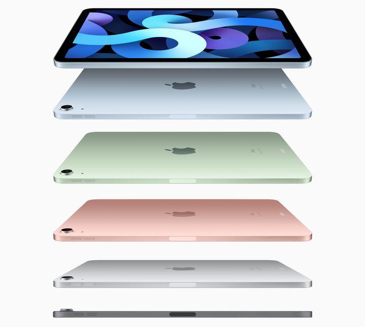Das Apple iPad Air präsentiert sich in ganz neuem Look.