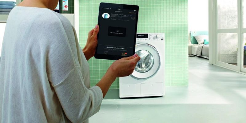 Moderne Waschmaschinen im Smart Home