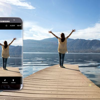 "Samsung ""Galaxy S7 edge"" im Kamera-Test."