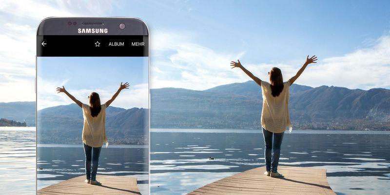 "Samsung ""Galaxy S7 edge"" im Kamera-Test."