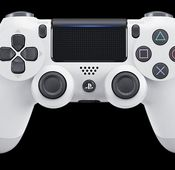 Die PlayStation 4 in Glacier White.