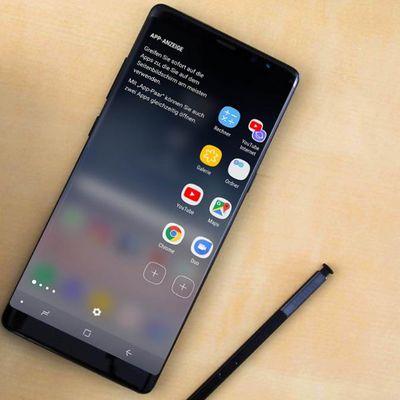Die Features der Seiten-Paneele beim Samsung Galaxy Note8.