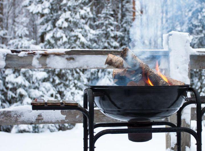 BBQ im Schnee