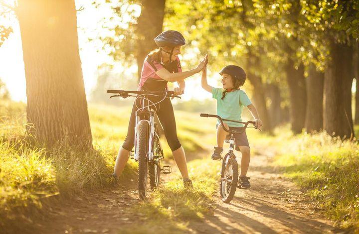 Radfahren macht in jedem Alter Spaß.