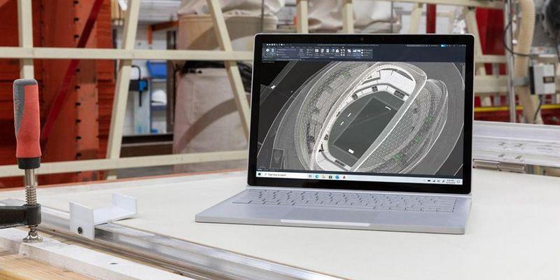 """Die neuen """"Surface""""-Produkte."""