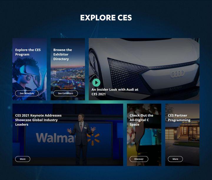 Die CES 2021 findet rein digital statt