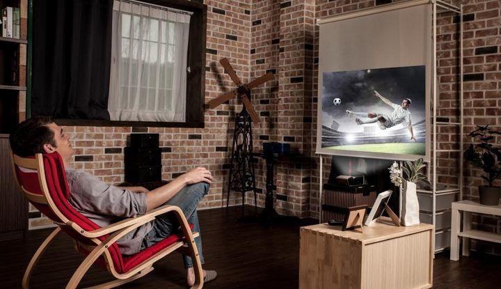 Filme schauen auf kleinstem Raum