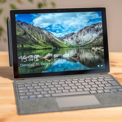 "Das Microsoft ""Surface 7""."