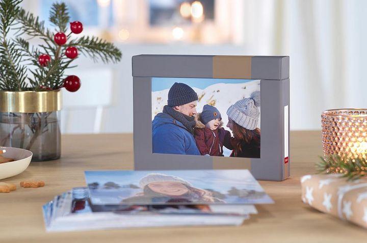 Eine Bilderbox voller weihnachtlicher Erinnerungen.