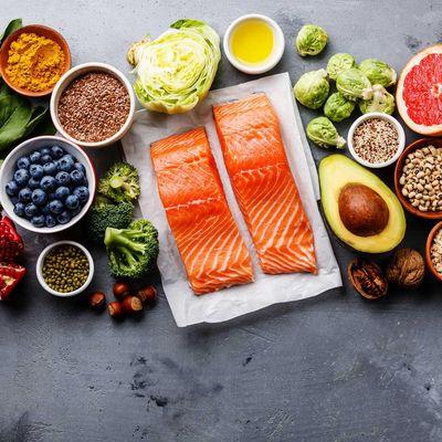 Gesunde Nahrung auf Instagram.