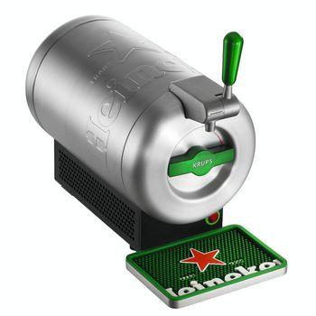 The Sub Heineken Edition von Krups: Die Bierzapfanlage ist der Star auf jeder Party.
