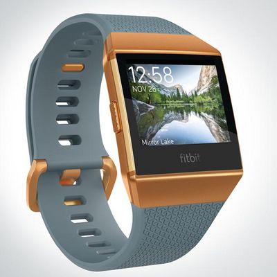 "Die neue Fitbit ""Ionic""."