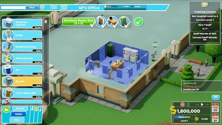 Das perfekte Krankenhaus fängt klein an.