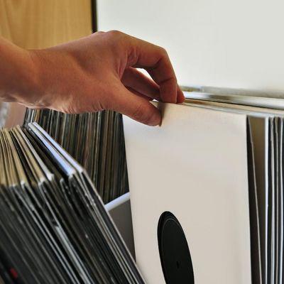 So sortiert man Vinyl am besten.