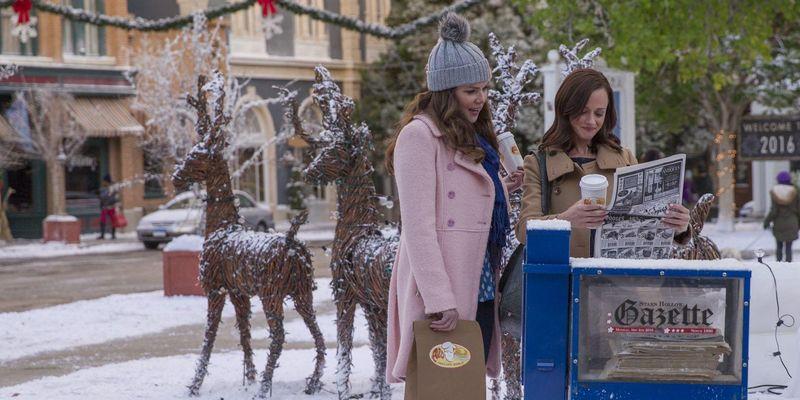 """Die """"Gilmore Girls"""" sind zehn Jahre nach Ende der Originalserie zurück im Heimkino."""